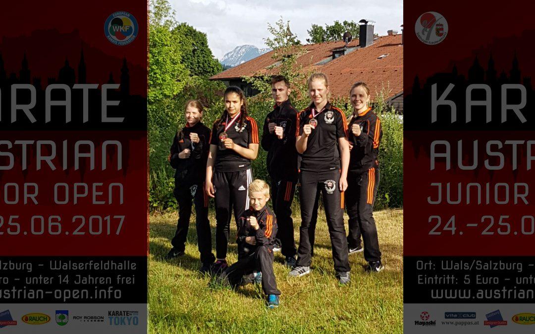 Kai Sei karateka Sarah en Wissal leveren topprestatie in Oostenrijk