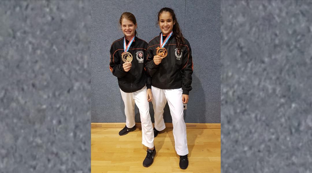 Kai Sei karateka Wissal en Mex pakken prijzen