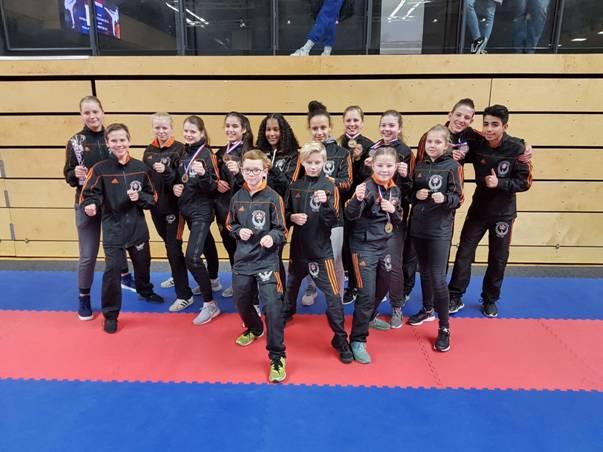 Succes voor karateka Kai Sei in Zwolle