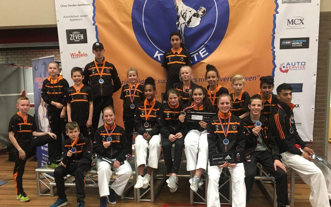 Succesvol weekend voor karateka Kai Sei