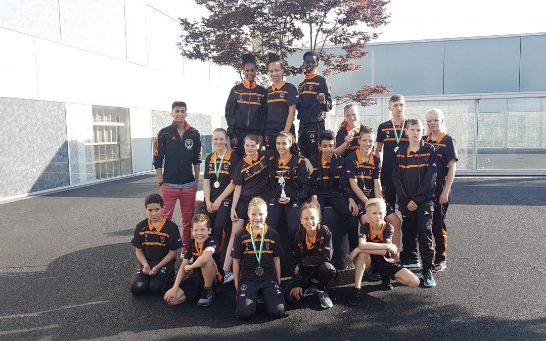 Karateka Kai Sei pakken prijzen op Rotterdam Cup