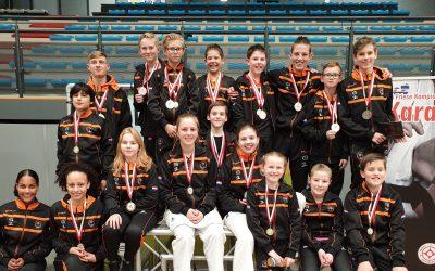 5 goud, 4 zilver en 8 brons voor karateka Kai Sei op Open Friese