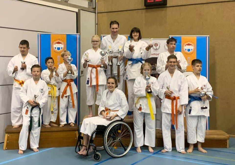 Eerste KBN Para-karate toernooi verzorgd door Kai Sei