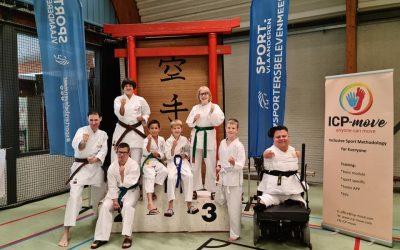 Goud en zilver voor Nederlandse karateka bij i-karate in België