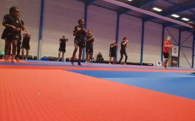 Trainen in de nieuwe dojo en centrale training WIKF