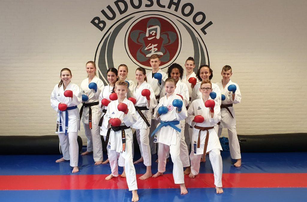 Goud voor Kai Sei karateka Bob en Kosta