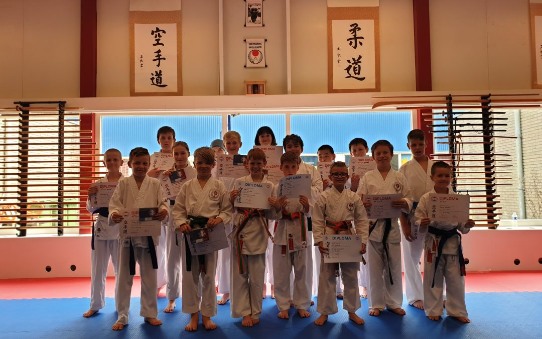 Geslaagde examens bij Kai Sei