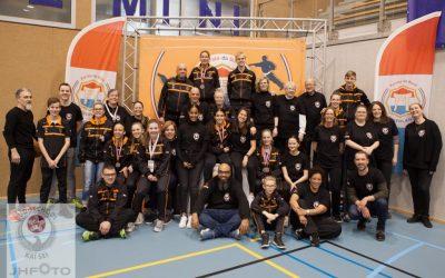 Goed resultaat Kai Sei karateka op NK Senioren en Teams 2019